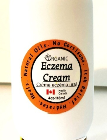 Organic Eczema cream-back in stock- Free shipping!