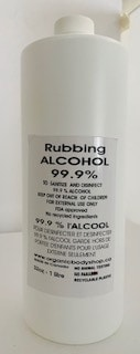 Rubbing Alcohol 70% & 99.9% in Litres sold here